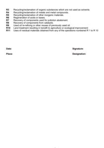 hazardous waste regulation form 6 - c