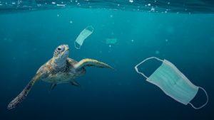 COVID-19 waste in ocean