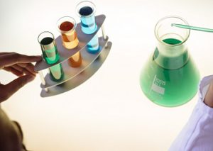 chemical treatment of waste