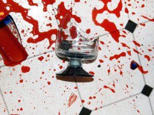 Broken and infected glassware